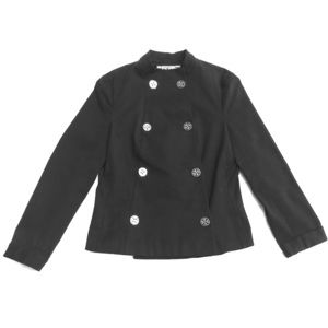 Tory Burch Black Double Breasted Blazer